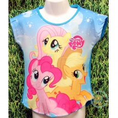 Kaos Little Pony Star (Ukuran 4 - 8)