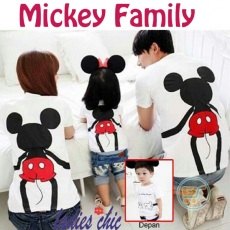 Tshirt Mickey Mouse Family