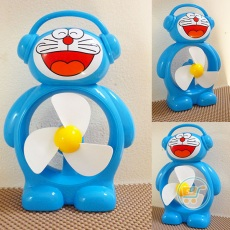Kipas Angin Doraemon Headphone
