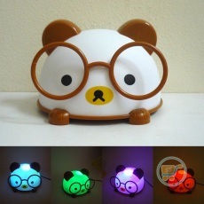 Lampu Panda Brown Nerdy