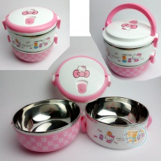 Lunch Box Hello Kitty Stainless Susun