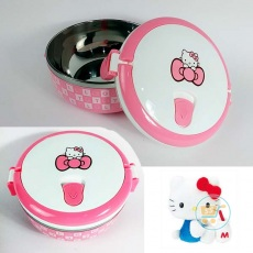 Lunch Box Hello Kitty Stainles Bulat