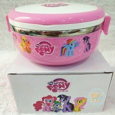 Lunch Box Little Pony Stainles Bulat