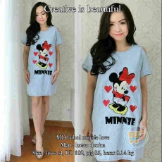 Dress Minnie Mouse Denim