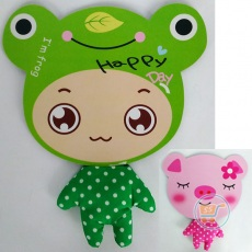 Mouse Pad Keroppi And Piggy Big Head