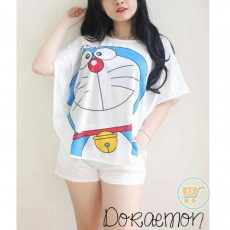Setelan Doraemon Big Smile
