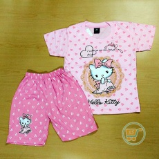 Setelan Hello Kitty Lovely Princess