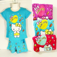 Setelan Hello Kitty Sweetie (Ukuran 8 - 12)