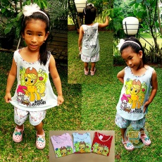 Setelan Little Pony Best friend (Ukuran 7 - 9)
