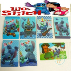 Sticker Card Stitch