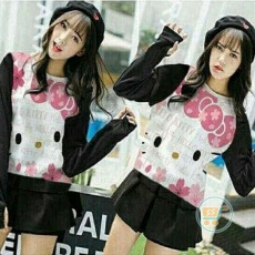 Sweater Hello Kitty Flower