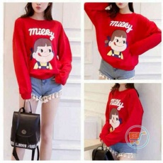 Sweater Milky Red
