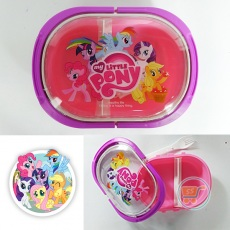 Tempat Makan Little Pony Purple