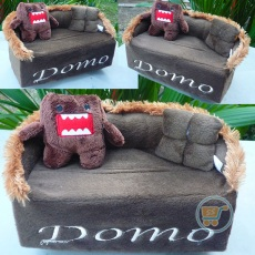 Tempat Tissue Domo Sofa Brown