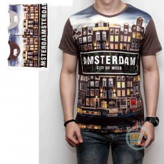 Tshirt Amsterdam City Of Weed
