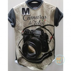 Tshirt Camera Fuji Film