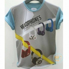 Tshirt Headphones Journey