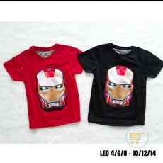 Kaos Iron Man LED Head