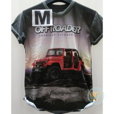Tshirt Jeep Off Roader American