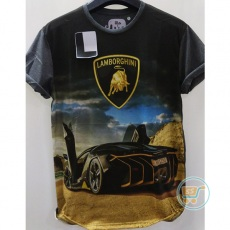 Tshirt Lamborghini Unique Car Large