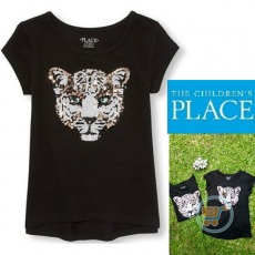 Tshirt Place Tiger Sequin