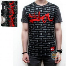 Tshirt Quicksilver Black