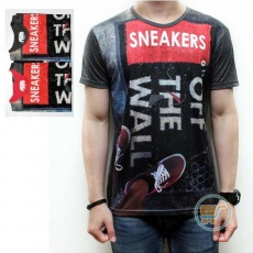Tshirt Sneakers Off The Wall