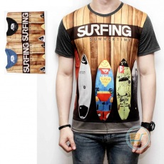 Tshirt Surfing Summer Time