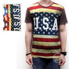 Tshirt USA Flag Starline