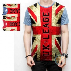 Tshirt Bendera UK Leage