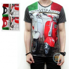 Tshirt Vespa Street Of Love
