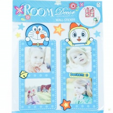 Wall Sticker Frame Doraemon