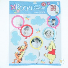 Wall Sticker Frame Pooh