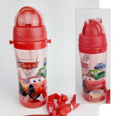 Botol Minum Cars Long Red