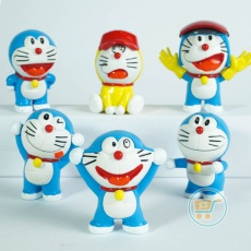 Action Figure Doraemon Set Of 6