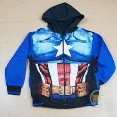 Jaket Captain America Star Of Steel