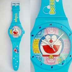 Jam Dinding Doraemon Watches Bulat