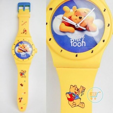 Jam Dinding Pooh Watches