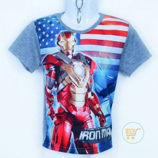Kaos Iron Man Invicible (Ukuran 4 - 14)