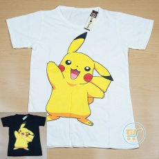 Kaos Pikachu Cute Happy
