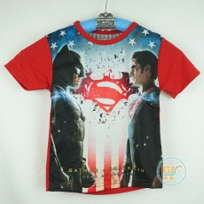 Kaos Batman Vs Superman (Ukuran 4 - 8)