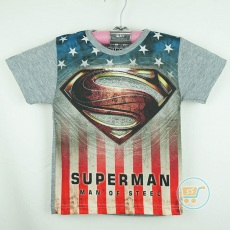 Kaos Superman On Star (Ukuran 4 - 8)