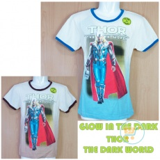 Kaos Thor Glow In The Dark (Ukuran 4 - 14)
