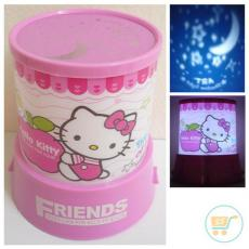 Lampu Proyektor Hello Kitty