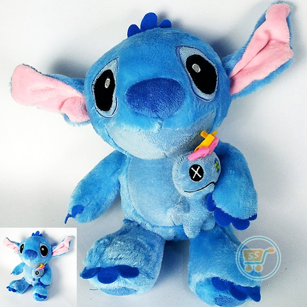 Boneka Stitch With Scrump Doll