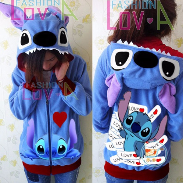 Jaket Stitch Paper In Love Cute Ears