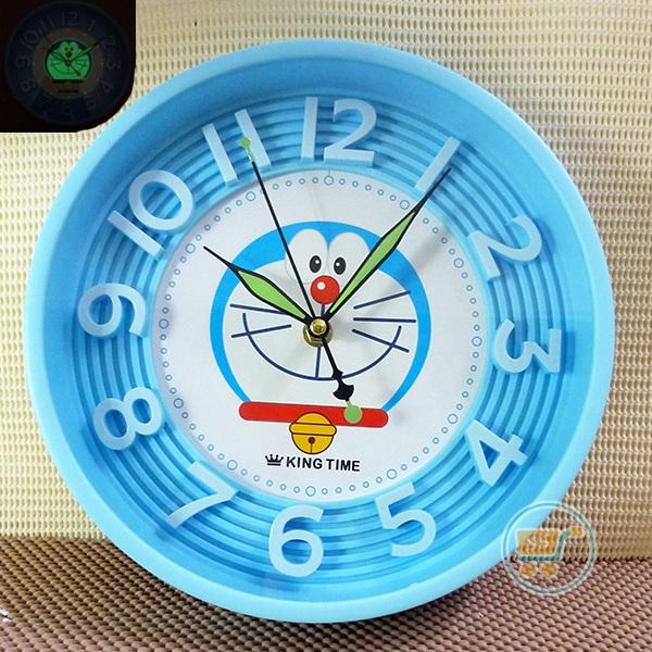 Jual Jual Jam Dinding Doraemon Glow In The Dark Unik Dan Sangat Keren