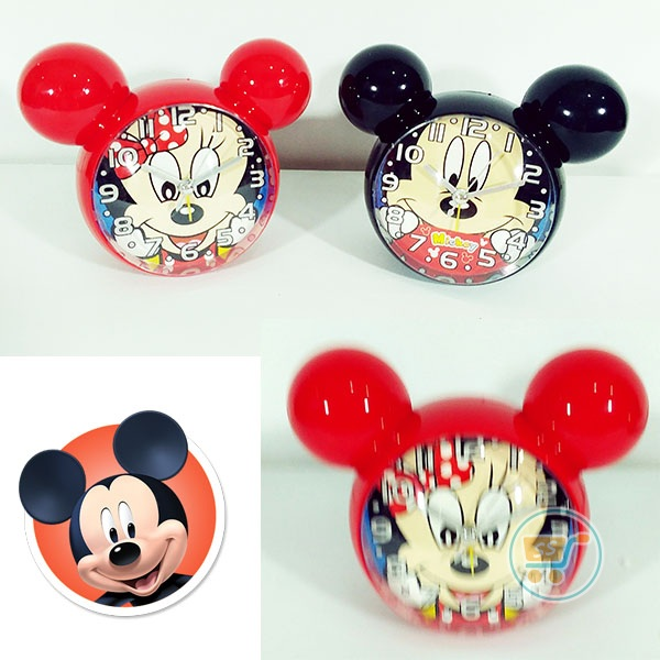 Jam Minnie And Mickey Kepala