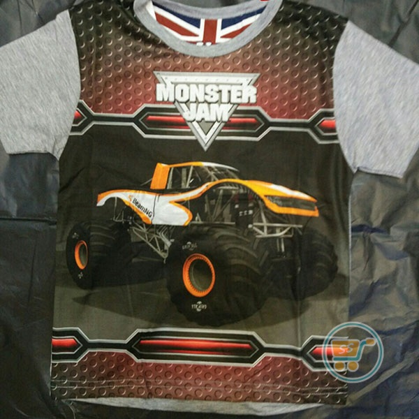 Kaos Jeep Monster Jam