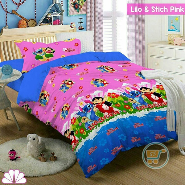 Sprei Stitch And Lilo